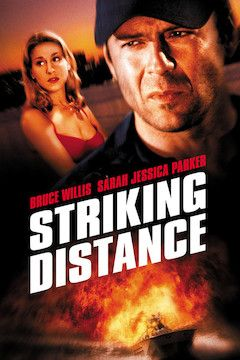 Striking Distance movie poster.