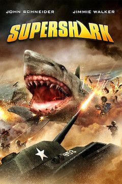 Super Shark movie poster.