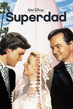 Superdad movie poster.