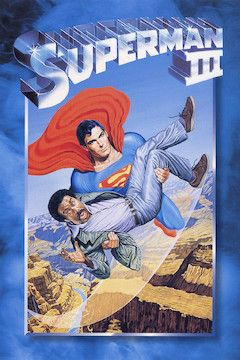 Superman III movie poster.