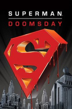 Superman: Doomsday movie poster.