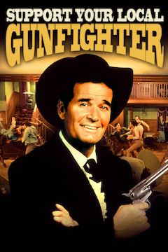 Support Your Local Gunfighter movie poster.