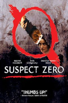 Suspect Zero movie poster.
