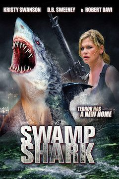 Swamp Shark movie poster.