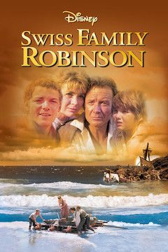 Poster for the movie Swiss Family Robinson