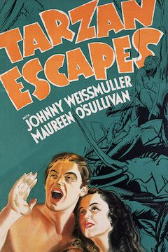 Tarzan Escapes movie poster.