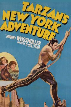Poster for the movie Tarzan's New York Adventure
