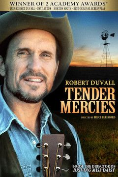 Tender Mercies movie poster.