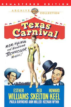 Texas Carnival movie poster.