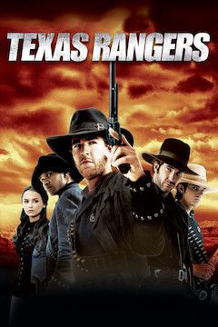 Texas Rangers movie poster.