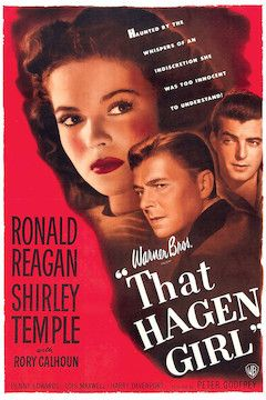 Poster for the movie That Hagen Girl
