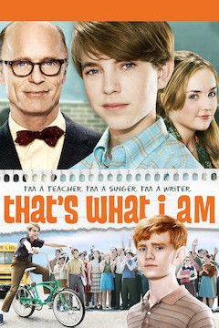 That's What I Am movie poster.