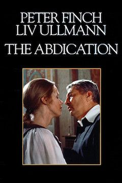 The Abdication movie poster.
