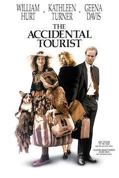 Poster for the movie The Accidental Tourist