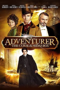 The Adventurer: The Curse of the Midas Box movie poster.