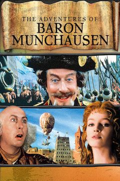 The Adventures of Baron Munchausen movie poster.