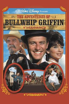 The Adventures of Bullwhip Griffin movie poster.