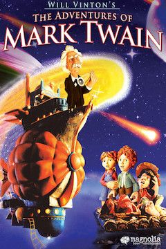 The Adventures of Mark Twain movie poster.
