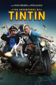 The Adventures of Tintin movie poster.