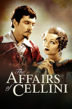 The Affairs of Cellini movie poster.
