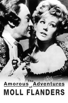 Poster for the movie The Amorous Adventures of Moll Flanders