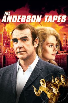 Poster for the movie The Anderson Tapes