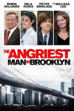 The Angriest Man in Brooklyn movie poster.