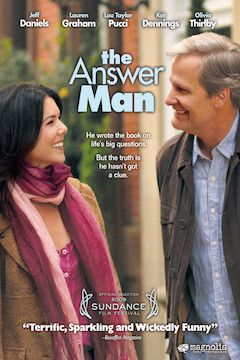 The Answer Man movie poster.
