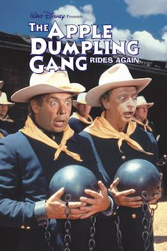 The Apple Dumpling Gang Rides Again movie poster.