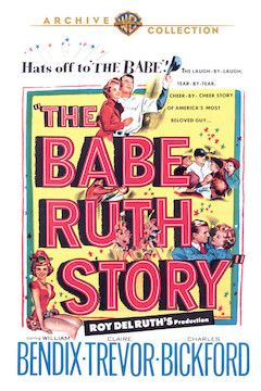 The Babe Ruth Story movie poster.