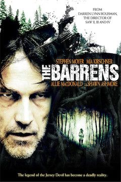 The Barrens movie poster.