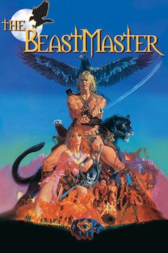 The Beastmaster movie poster.