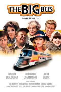 The Big Bus movie poster.