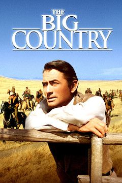 The Big Country movie poster.