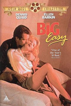 The Big Easy movie poster.