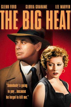 The Big Heat movie poster.