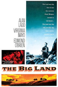 The Big Land movie poster.