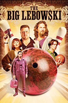 The Big Lebowski movie poster.