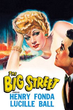 The Big Street movie poster.