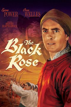 The Black Rose movie poster.