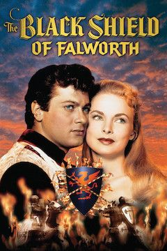 The Black Shield of Falworth movie poster.