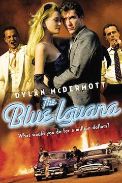 The Blue Iguana movie poster.