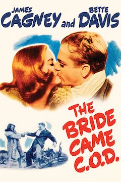 The Bride Came C.O.D. movie poster.