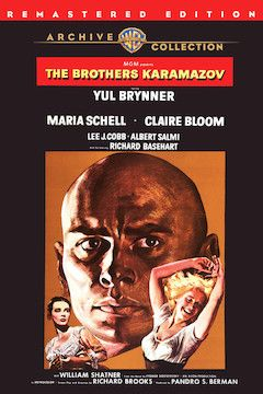 Poster for the movie The Brothers Karamazov