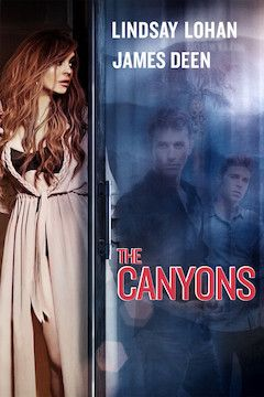The Canyons movie poster.