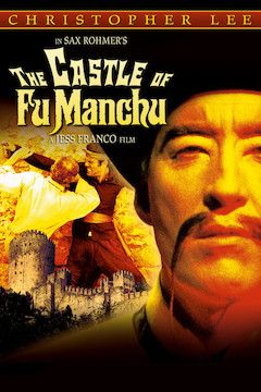 Poster for the movie The Castle of Fu Manchu