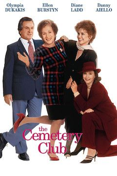 The Cemetery Club movie poster.