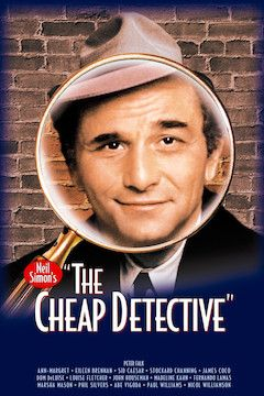 The Cheap Detective movie poster.