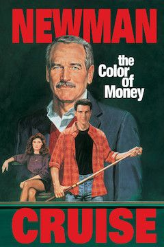 The Color of Money movie poster.