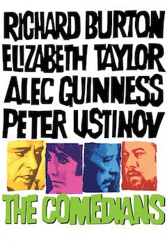 The Comedians movie poster.